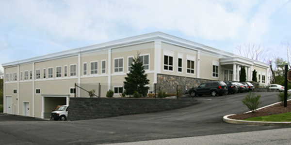 Seven Sutton Place. Offices and warehouse, built and managed by Sisca, Brewster, NY