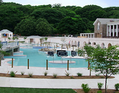 Enormous Water Park, Tibbetts Brook Park, Yonkers NY
